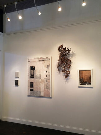 Seth Clark's PERSISTENCE: Structural Systems on the Brink of Collapse, installation view
