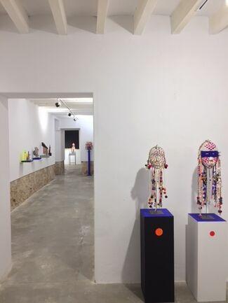 """Animistic phanteon"", Andrés Planas, installation view"