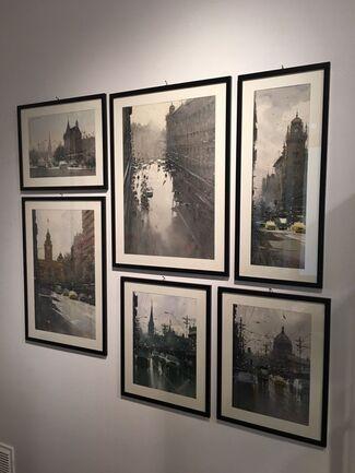 "Joseph Zbukvic ""Watercolors"", installation view"
