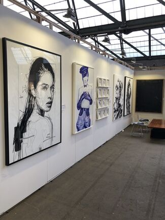 Acid Gallery at Affordable Art Fair Brussels 2018, installation view