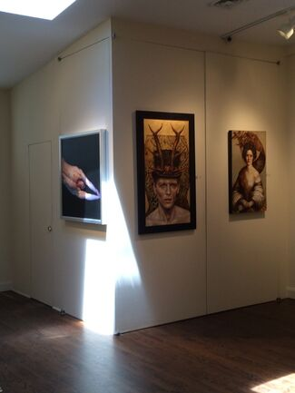 The Revolution hasn't started…., installation view