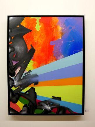 Old School - A-ONE - CRASH - DAZE - Henry CHALFANT - Keith HARING- JONONE - SHARP, installation view