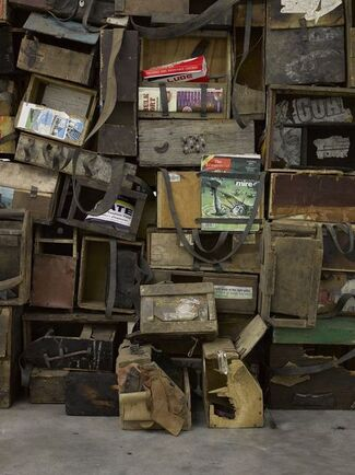 Ibrahim Mahama: Fragments, installation view