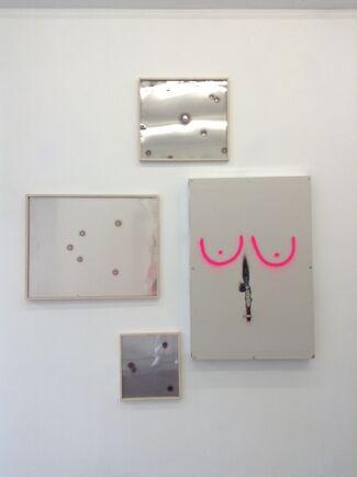"""David Alexander Flinn """"Midnight, everything is alright"""", installation view"""
