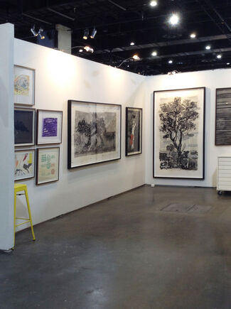 David Krut Workshop at FNB JoburgArtFair 2015, installation view