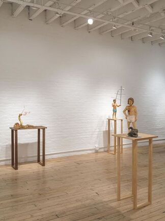 Santiago Cal, installation view