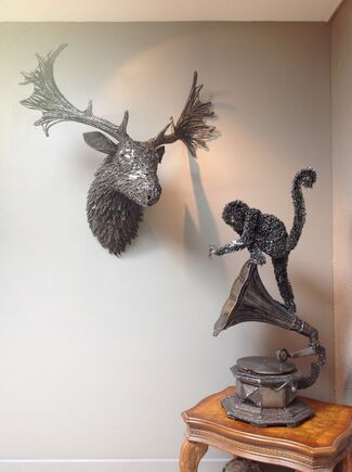 Monkey Brand: Sculptures By Leigh Dyer, installation view