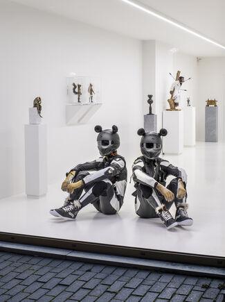 Entre réalité et fiction, installation view