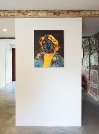 Mugshots: Sally Kindberg + Philadelphia PD, installation view