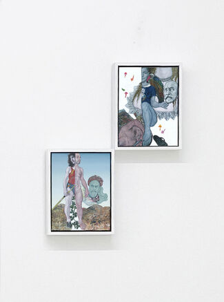 Emmanouil BITSAKIS, solo show, The Pursuit of Happiness, installation view