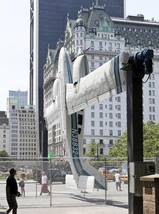 "Paola Pivi: ""How I Roll"" at Doris C. Freedman Plaza, Central Park New York, installation view"