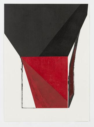 Akiko Mashima - 空間の音 Sound of Space (Kūkan no oto)  -  additional work on paper, installation view