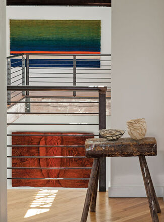 Influence and Evolution: Fiber Sculpture...then and now, installation view