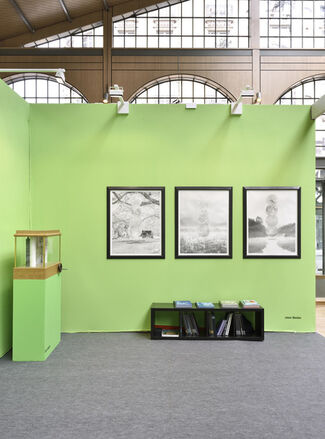 Suzanne Tarasieve at Drawing Now Paris 2017, installation view