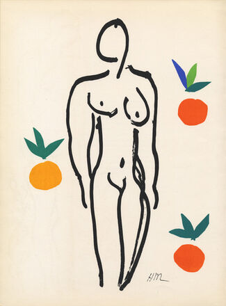 Matisse - Drawing with Scissors, installation view