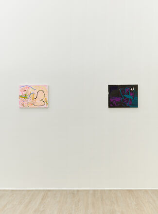 My Lips are Blue for You, installation view