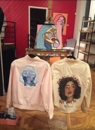 Pop Up Shop By Hailey Marie Losselyong, installation view