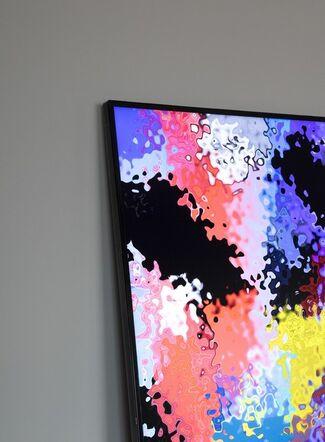 Daniel Canogar: Mirrors, installation view