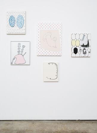 Meg Cranston: Pizza, Bagpipe, Carburetor, installation view