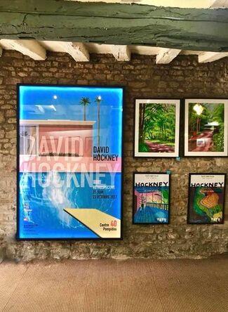 A Bigger Gallery - David Hockney Viewing Event, installation view