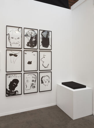 CHOI&LAGER at Art Brussels 2017, installation view
