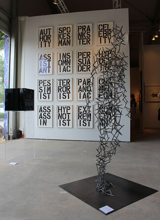 ARCHEUS/POST-MODERN at Art Miami 2015, installation view