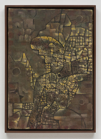 Lee Mullican: Shatter Special, installation view