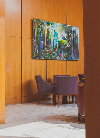 Art at Four Seasons, installation view