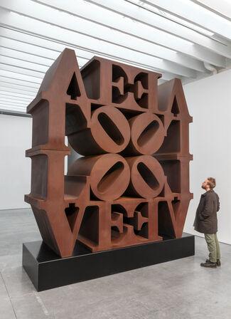 Robert Indiana, installation view