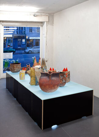 The early years, installation view