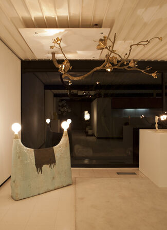 A Case Study in Lighting, installation view