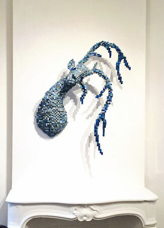 "SHAWN SMITH - ""PIXELS DE LA VIE SAUVAGE"", installation view"