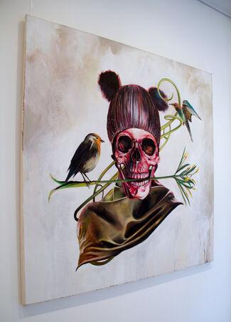 """""""In symbols we trust"""" (II) by Julien Grudzinski, installation view"""