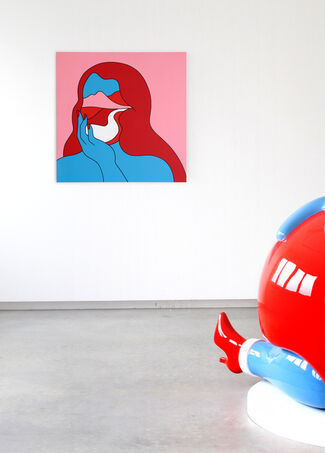SALUT by PARRA, installation view