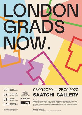 London Grads Now., installation view