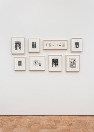 Evelyn Statsinger: A Gathering, installation view