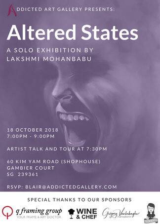 Altered States: A Solo Exhibition by Lakshmi Mohanbabu, installation view