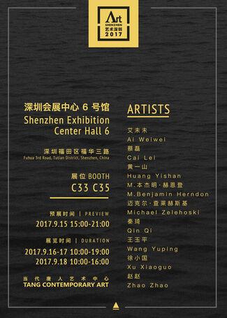 Tang Contemporary Art at Art Shenzhen 2017, installation view