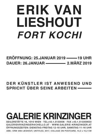 Erik van Lieshout - Fort Kochi, installation view