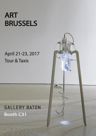 Gallery Baton at Art Brussels 2017, installation view