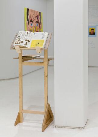 Yellow Bikini, installation view