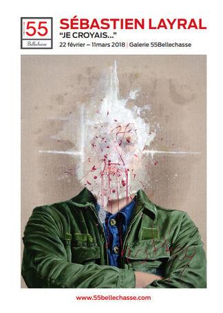 "Solo Show Sébastien Layral - ""Je croyais..."", installation view"