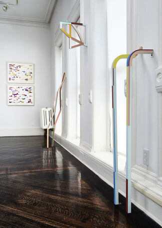 Imagining Spaces: Constructions in Color and Text, installation view