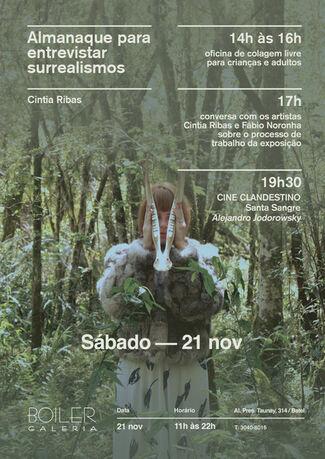 Almanaque para entrevistar surrealismos (Almanac for interviewing surrealisms), installation view