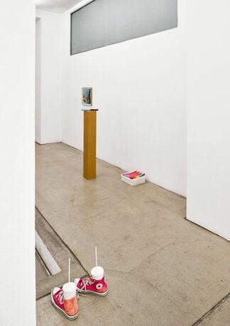 KERSTIN VON GABAIN   Bad Pringle, installation view