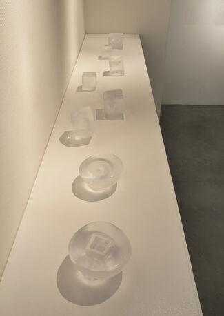 """vol.70 Momoo Omuro  Mica Okuno  Kazumi Tsuji  Naoko Kato """"in ; the glass"""", installation view"""