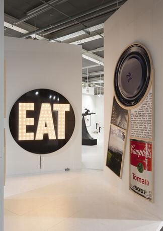 Galerie Hans Mayer at Art Basel 2014, installation view