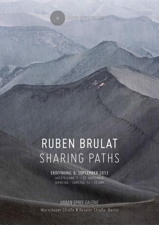 Ruben Brulat: Sharing Paths, installation view