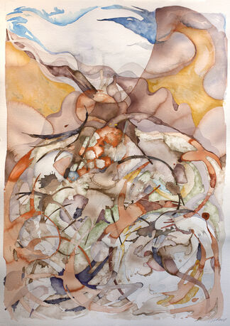 NATALIE BIESER | Desert Watercolors, installation view