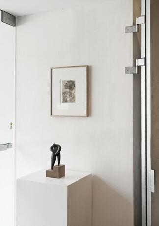"""vol.36 Kouichi Uchida """"HITOGATA"""", installation view"""